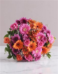 Picture of Colour Burst Bouquet!