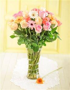 flowers: Pastel Allure Display!