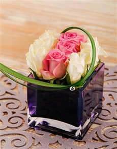 flowers: Edith Venter Petite Rose Arrangement!