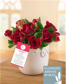 flowers: Magical Rose Arrangement!