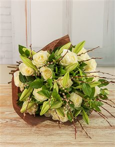 flowers: Amor Vittone Whimsical White Bouquet!