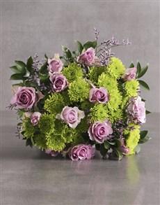 flowers: Light Purple Perfection Bouquet!