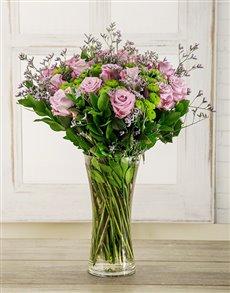 flowers: Light Purple Temptation Arrangement!