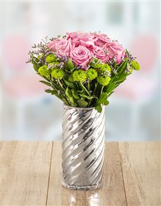 flowers: Shimmery and Sparkle Arrangement!