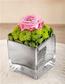 flowers: A Pop of Purple Arrangement!