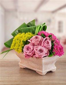 flowers: Light Purple Elegance Arrangement!
