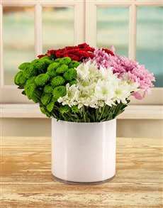 flowers: Charming Daisy Arrangement!
