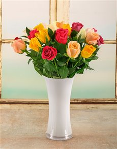 flowers: Bright Summer Day Arrangement!