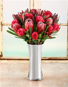 flowers: Protea Beauty Arrangement!