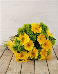 flowers: Lemon & Lime Bouquet!