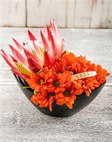 flowers: Protea Sunset 46664 Flower Arrangement!