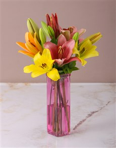 flowers: Loving Lily Arrangement!