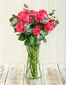flowers: Pink Romance Arrangement!