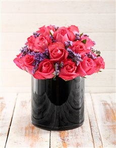 flowers: Pop of Pink Arrangement!