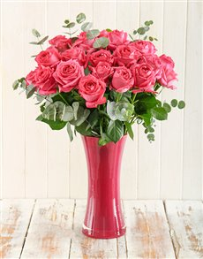 flowers: Cerise Surprise Bouquet!