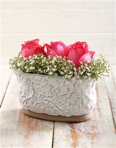 flowers: Pink Sentiments Arrangement!