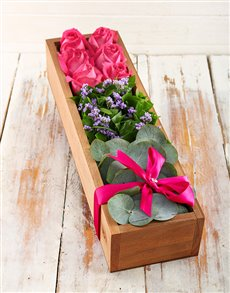 flowers: Pink Box of Love!