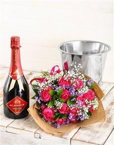 gifts: Bubbles of Love Floral Arrangement!