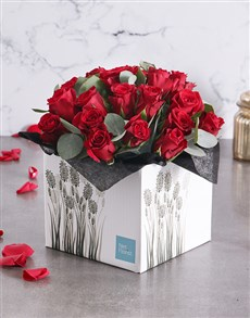 flowers: Red Rose Romance Box!