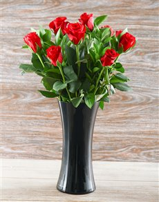 flowers: Perfectly Red Rose Romantic!