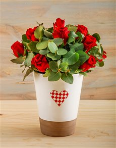 flowers: You are  My Heart Rose Vase!
