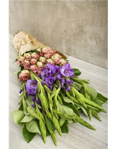 gifts: Lilac and Purple Passion Bouquet!