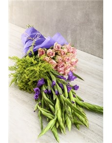 flowers: Lilac and Purple Madness Bouquet!