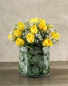 flowers: Yellow Rose Delight!