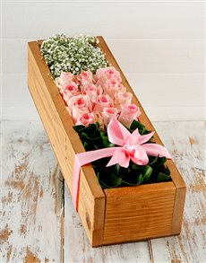 flowers: Pink Wonder Crate!