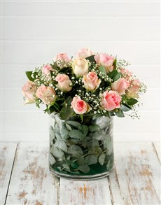 flowers: Mystical Pink Roses!
