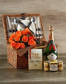 gifts: Orange Indulgence Picnic Basket!