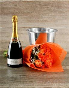 flowers: Pongracz and Orange Rose Affairs!