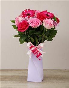 flowers: Elegant It's a Girl Arrangement!