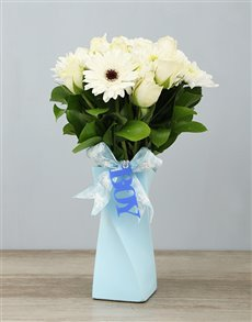 flowers: Elegant It's a Boy Arrangement!