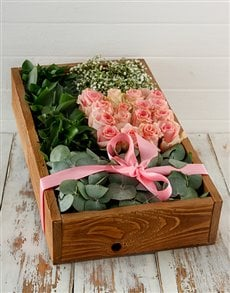 flowers: Pink Wonder Delux Crate!