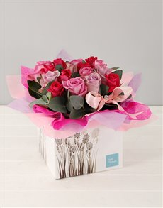 flowers: Pink Rose Appreciation Box!