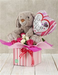 flowers: Love and Cuddles Box!