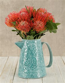 flowers: Pincushion Jug!