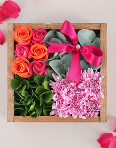 flowers: Rose and Spray Crate!