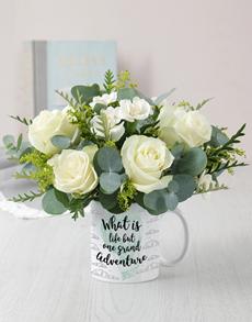 flowers: Grand Adventure Mug Arrangement!