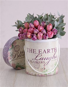 flowers: Earth Laughs In Tulips!