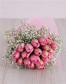 flowers: Pretty Pink Tulips!