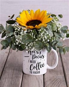 flowers: Hocus Pocus Mug Arrangement!