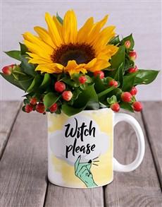 flowers: Witch Please Mug Arrangement!