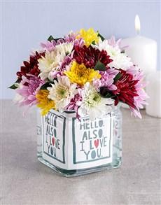 flowers: Hello I Love You Rose Vase!