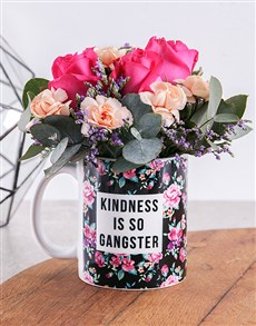 flowers: Kindess Flower Mug!