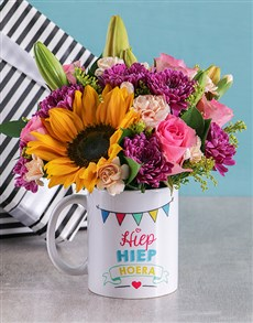 flowers: Mixed Flowers Celebration Mug!