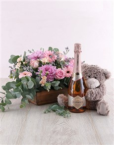 flowers: Make Me Blush Hamper!
