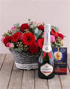 flowers: Treat Me Flower Hamper!