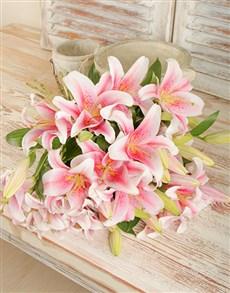 flowers: Stargazer Lily Bouquet!